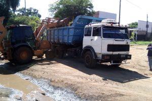 El municipio realiza obras y limpieza en Miguel Lanús
