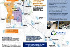 Samsa realiza inversiones en tecnología para el servicio de agua potable