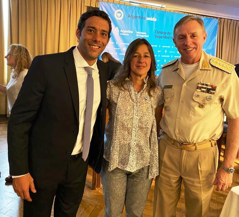 Pérez participó de la primera reunión del Consejo de Seguridad Interior 2020