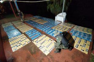 Misiones: Prefectura incautó mercadería de contrabando por dos millones y medio de pesos