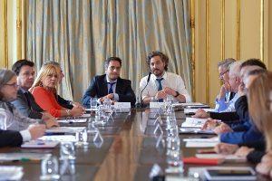 Cafiero y Cabandié encabezaron la primera reunión del Gabinete Nacional de Cambio Climático desde la sanción de la ley