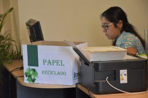 Optimizar uso  de papel, clave para el cuidado del medio ambiente