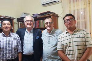 Integrantes de la CEM se reunieron con el Obispo de Posadas
