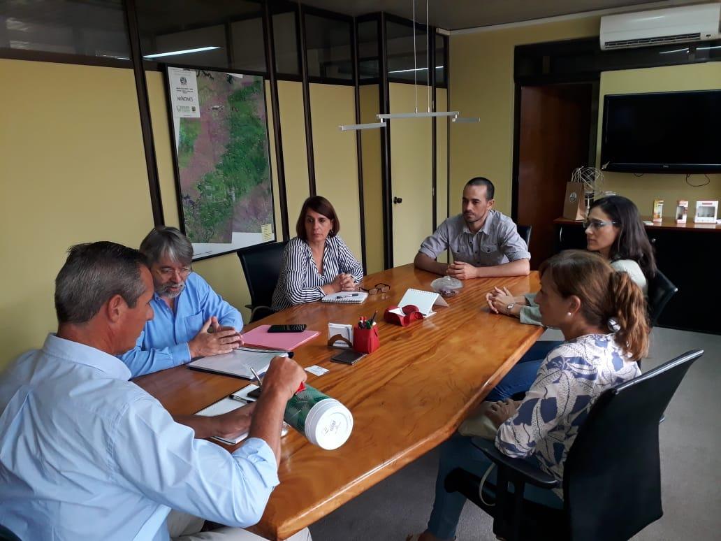Forestales se reunieron con Vialey para coordinar acciones conjuntas