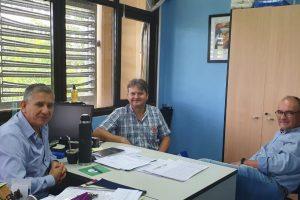 Dudek trabaja para fortalecer la Educación Técnica en Cerro Azul