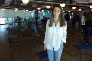"""Johanna Picciano, vocera de Uber. """"Tenemos 25.000 misioneros que ya bajaron la app"""""""
