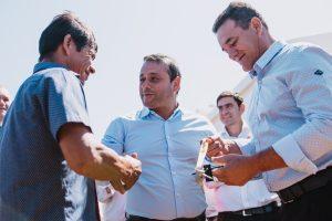Herrera Ahuad destacó que los acuerdos salariales se pudieron concretar porque la provincia tiene las cuentas ordenadas