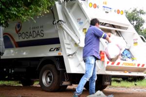 La Provincia colaborará con la recolección de residuos en los barrios del Iprodha de Posadas
