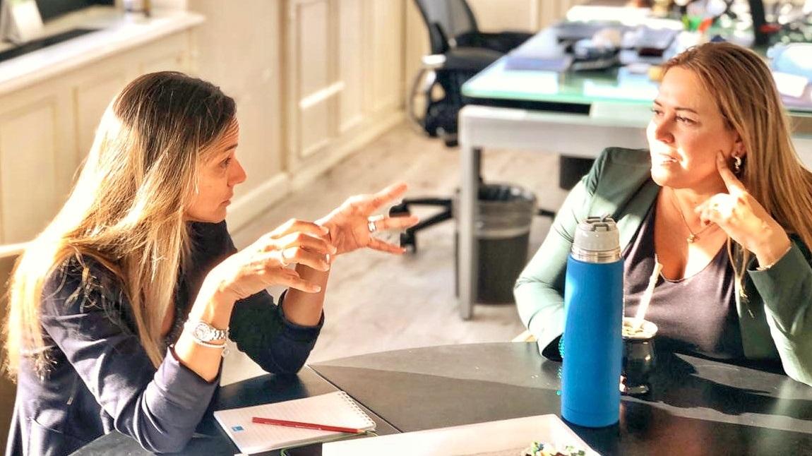 """Silva Rojas: """"Con Malena concretamos acciones de alto impacto político, social y federal de trabajo en género"""""""