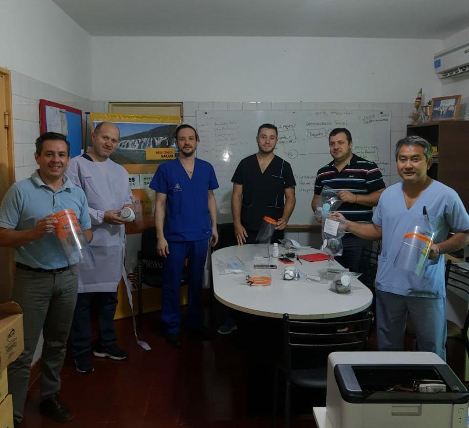 San Pedro: Con campaña solidaria, equiparon a todo el personal de salud para enfrentar el Coronavirus