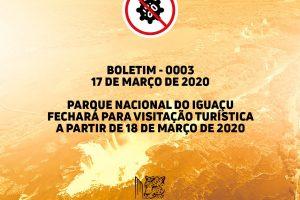 Brasil: cierran el Parque Nacional Iguazú e Itaipú por el coronavirus
