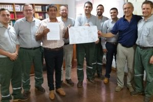 Arauco Argentina firmó convenios con bomberos de Piray y Libertad