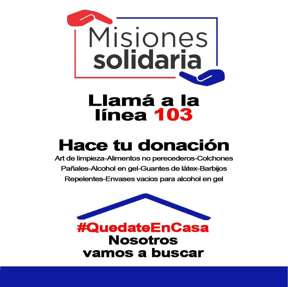 Campaña Misiones Solidaria