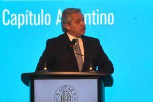 Ante empresarios, Alberto Fernández se quejó por los «precios que siguen subiendo»