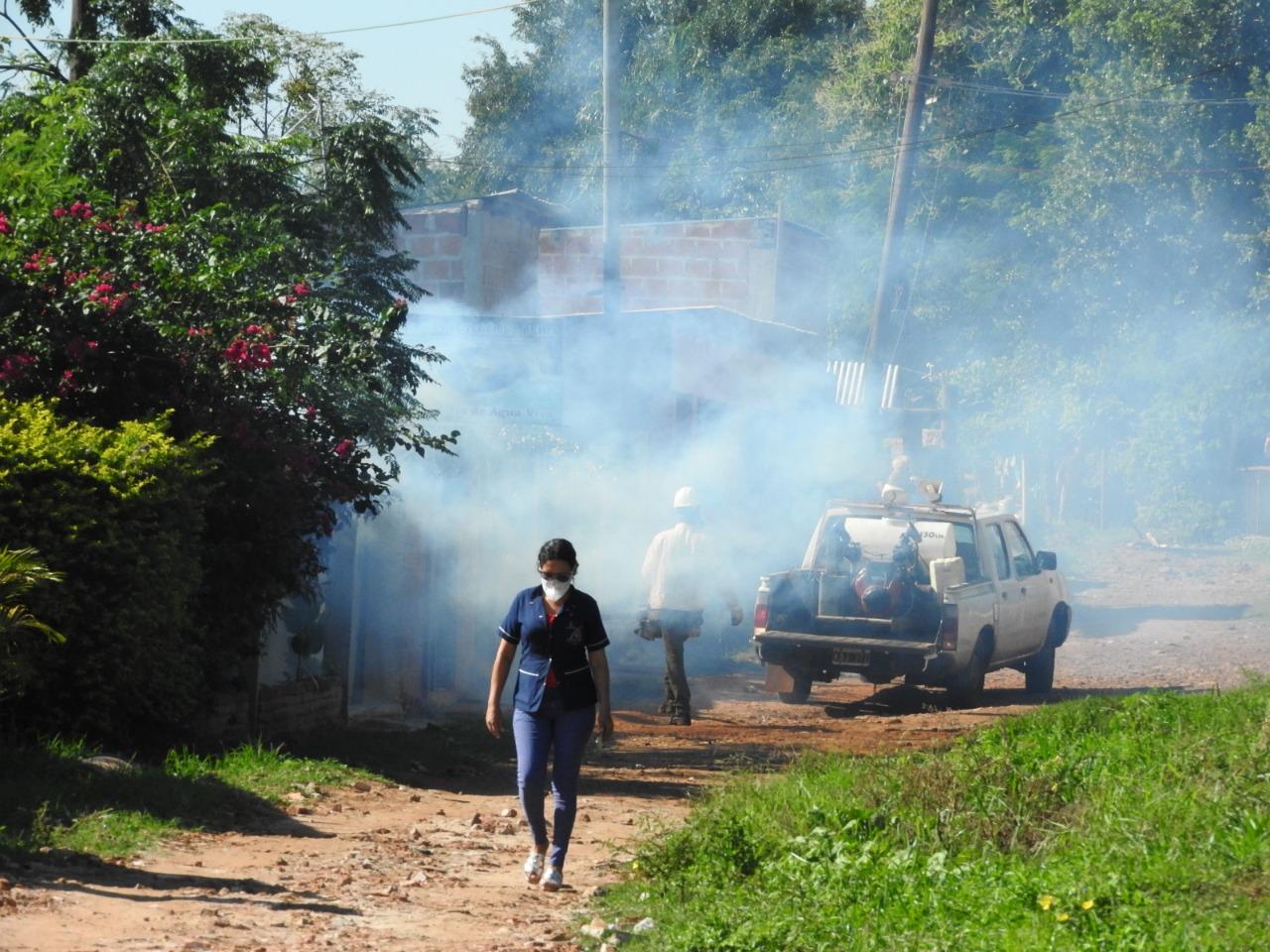 Dengue: siguen los operativos sanitarios