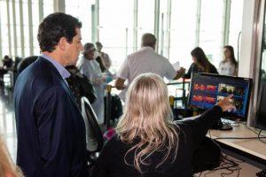 El Gobierno nacional puso en marcha las cámaras térmicas en el aeropuerto de Ezeiza