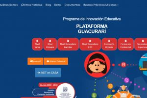 Suspensión de clases por la emergencia epidemiológica: Misiones presentó un aula virtual para alumnos